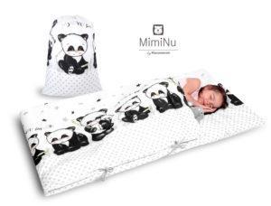 PANDA - ŚPIWOREK DLA PRZEDSZKOLAKA